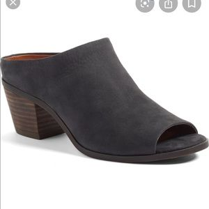 Lucky Brand Benah Block Heel Mule